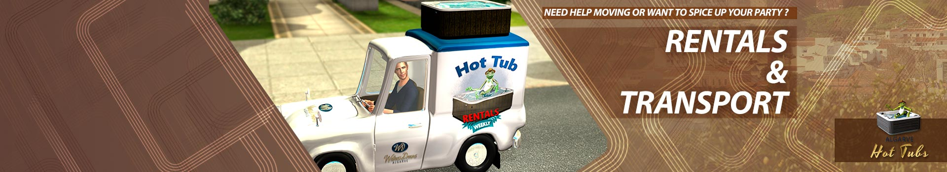 Hottubs - Rentals & Transport - Wellness Dreams Algarve