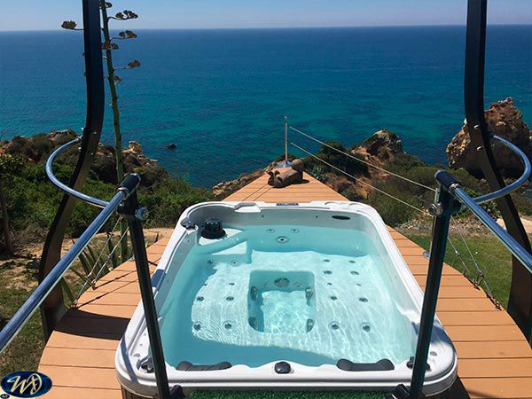 amazing sunshine spa installation 2 by wellness dreams elevated on the cost