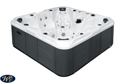 Hot Tub Joy 3 D , 7 Person , Sounds , 2 Pumps ,