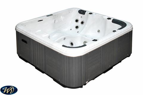 Hot Tub Refresh 3 D, 5 Person , 1 Pump