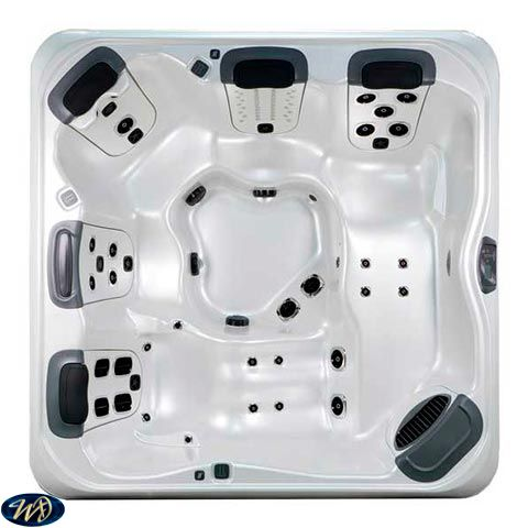 Villeroy & Boch Hot Tub A8D Shell , 5 Person