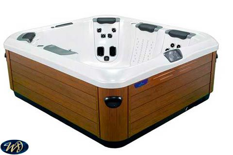 Hot Tub A6L Villeroy & Boch 3 D , 4 Person , Lounger
