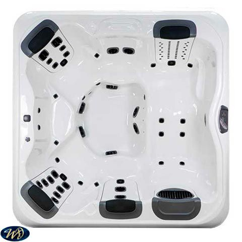 Villeroy & Boch Hot Tub R7L Shell , 5 Person