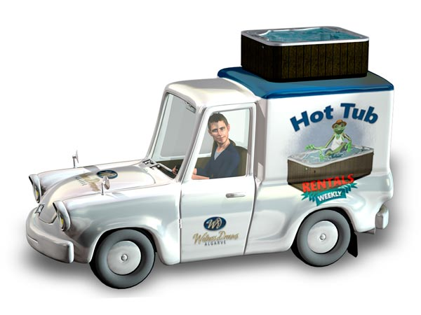 Hot Tubs transport Algarve