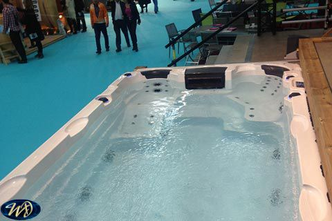 Swimspa Aquatic 1 half build in