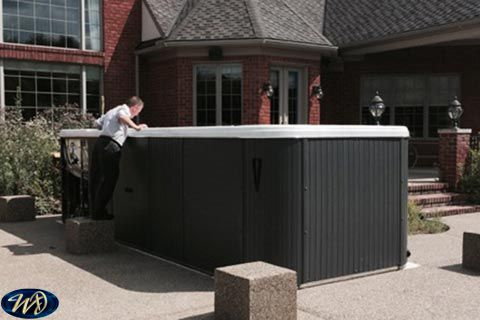 Swimspa Aquatic 3 Top Mounted